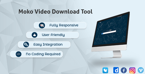 Ultimate Video Downloader - Facebook, Instagram, Twitter, Vimeo, Dailymotion - CodeCanyon Item for Sale