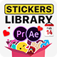 Essential Stickers Library - VideoHive Item for Sale