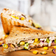 Homemade tuna sandwich, close-up, selective focus - PhotoDune Item for Sale