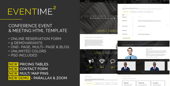 HTML Entertainment Website Templates from ThemeForest (Page 9)
