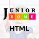 JuniorHome - Day Care & Kindergarten School Bootstrap4 Template - ThemeForest Item for Sale