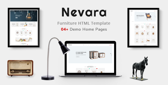 Image of Nevara - Furniture & Interior eCommerce Template