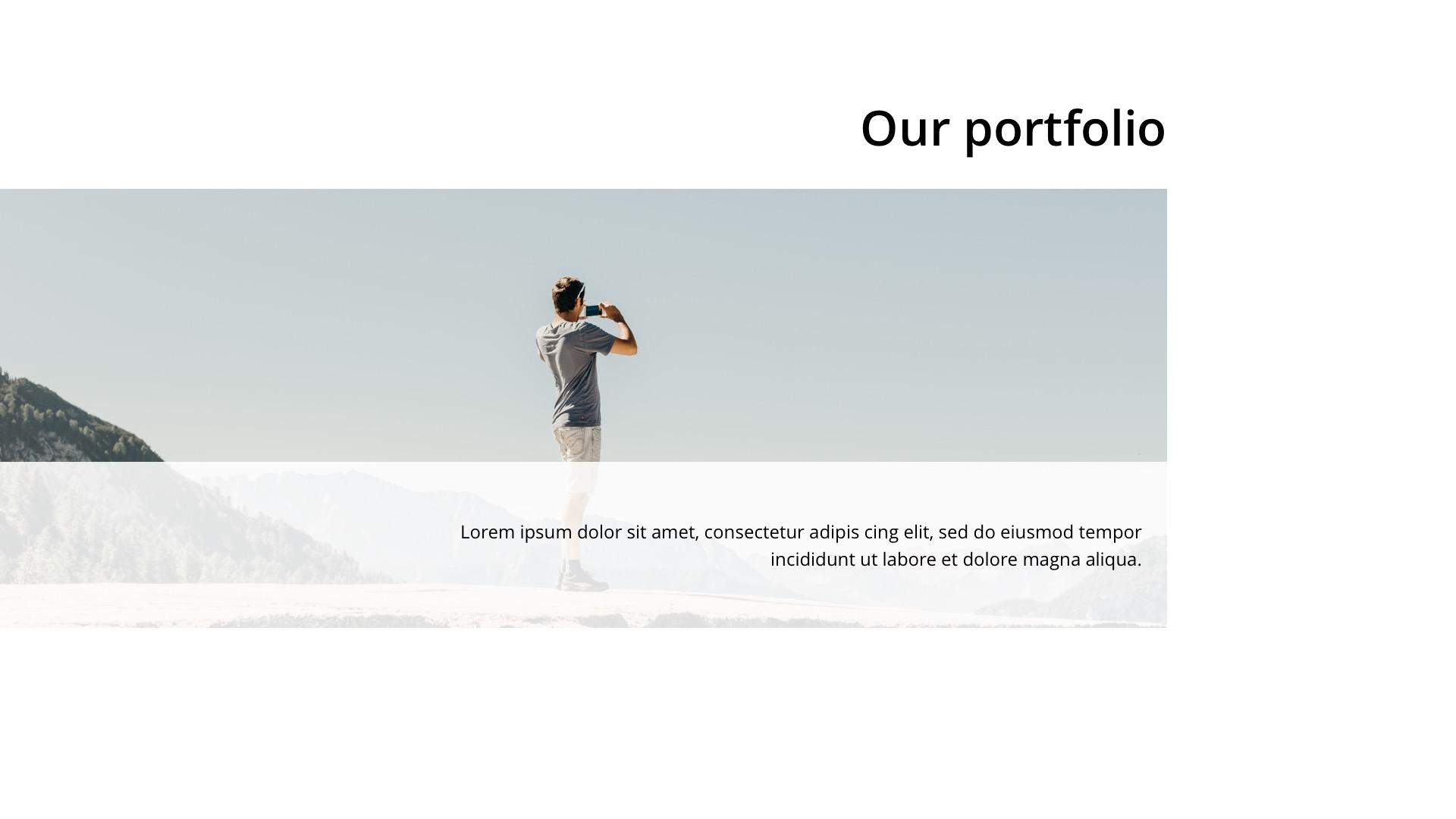 Triangle Minimal Google Slide Template by ESTE_Studio | GraphicRiver