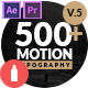 Motion Typography - VideoHive Item for Sale