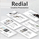 Redial Creative Keynote Template - GraphicRiver Item for Sale
