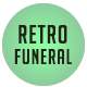Retro Funeral Program Template