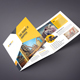 Construction Square Trifold Brochure
