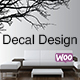 WooCommerce Custom Decal Design
