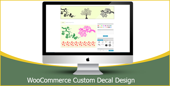 WooCommerce Custom Decal Design - CodeCanyon Item for Sale