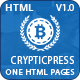 Cryptic Press - Crypto Currency & BitCoin - ThemeForest Item for Sale