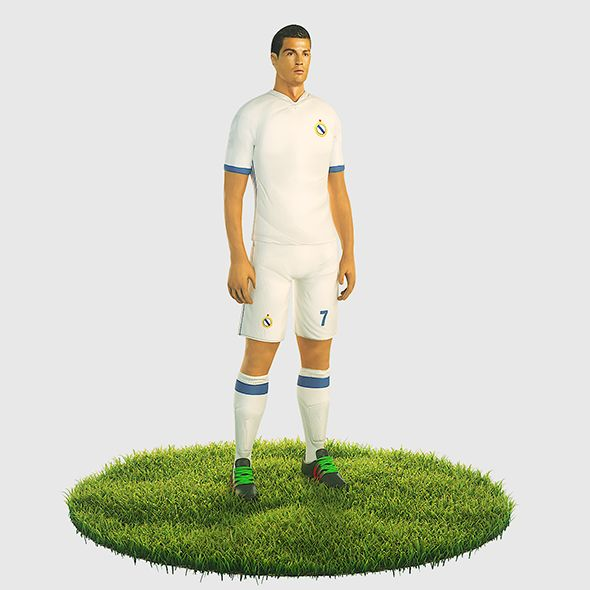 Ronaldo football player - 3DOcean Item for Sale