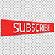 Subscription Button With Alpha Channel - VideoHive Item for Sale