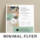 Multipurpose Minimal Clean Flyer - GraphicRiver Item for Sale