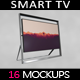 "85"" Smart Tv Mockup - GraphicRiver Item for Sale"