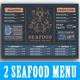 Seafood Menu - GraphicRiver Item for Sale