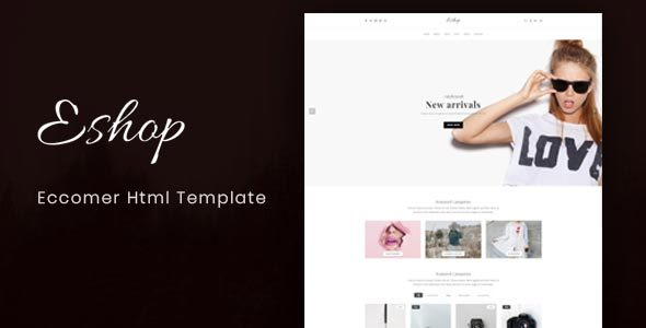 Image of Eshop - Ecommerce HTML Template