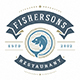 18 Seafood Logos & Badges - GraphicRiver Item for Sale