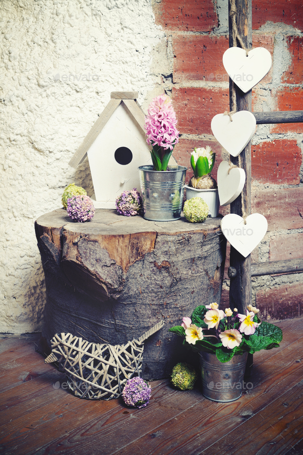 Spring still life - Stock Photo - Images