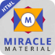 Miracle Material Business HTML Template - ThemeForest Item for Sale