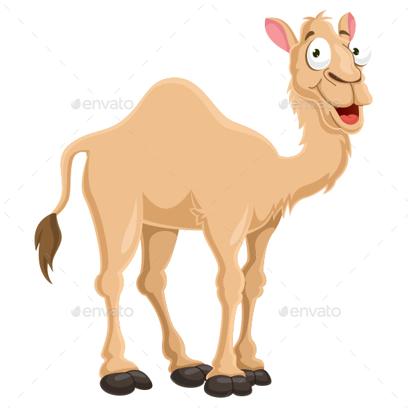 Camel Vector Illustration - Animals Characters