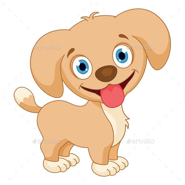 Dog Vector Illustration - Animals Characters