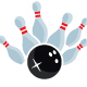 Bowling Strike Logo - GraphicRiver Item for Sale