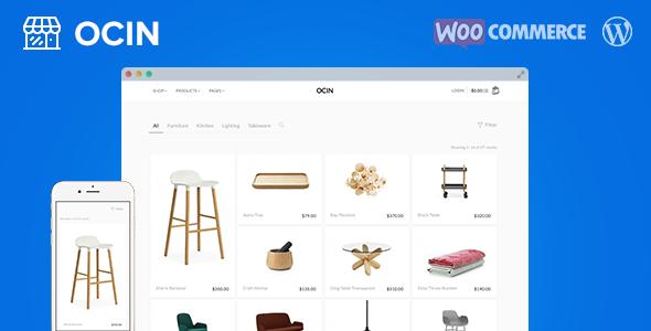 Ocin - Responsive WordPress WooCommerce Theme