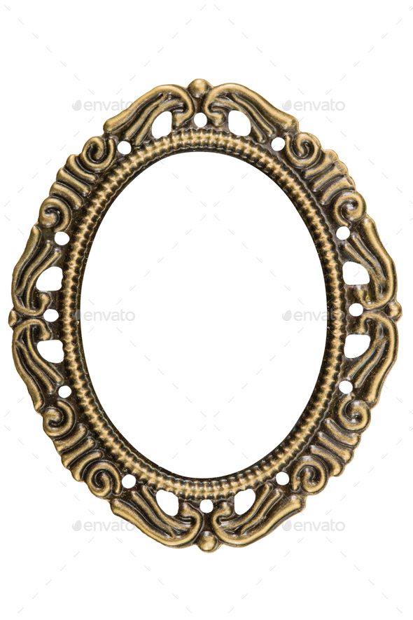 Filigree in the form of a frame, decorative element for manual w - Stock Photo - Images