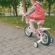 Little Girl Riding a Bike - VideoHive Item for Sale