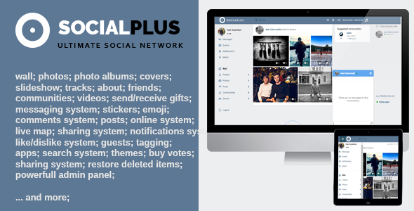 Social Plus - Ultimate Social Network Platform (v1.1.4) - CodeCanyon Item for Sale