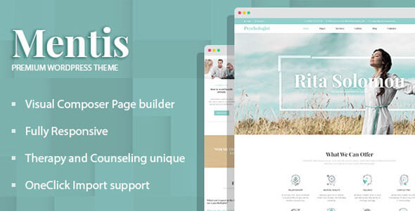 Mentis - Therapy and Counseling WordPress Theme