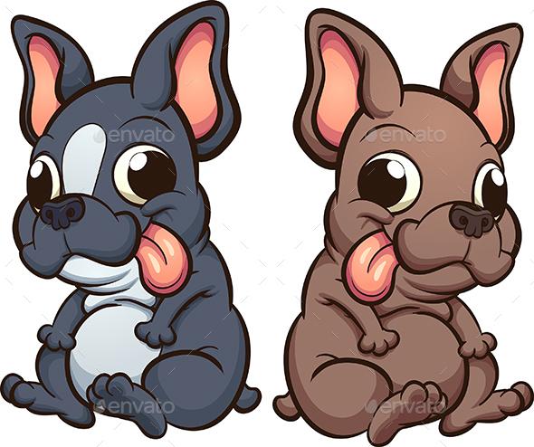 French Bulldog - Animals Characters