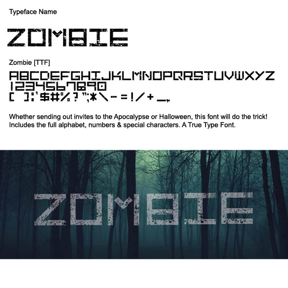 Zombie graphics designs templates from graphicriver toneelgroepblik Gallery