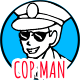 Cop Man - Policeman Character - Doodle Whiteboard Animation - VideoHive Item for Sale