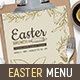 Easter Menu Vol.3 - GraphicRiver Item for Sale