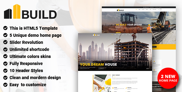 Construction - Construction Building Company - Business Corporate