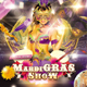 Mardi Gras Show Flyer - GraphicRiver Item for Sale