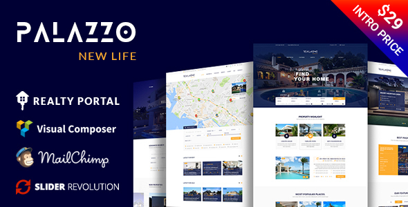 Palazzo - Real Estate WordPress Theme