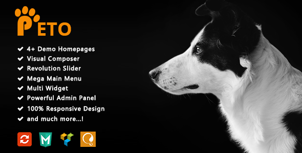 Image of Peto - Responsive WooCommerce WordPress Theme for Pets and Vets