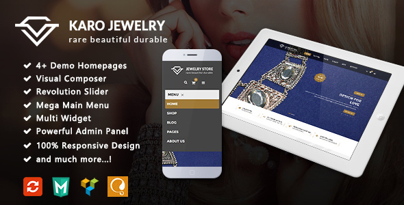 Karo - Jewelry Responsive WooCommerce WordPress Theme