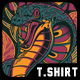 Deadly Poison T-Shirt Design - GraphicRiver Item for Sale