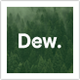 Dew - Personal Portfolio Template - ThemeForest Item for Sale