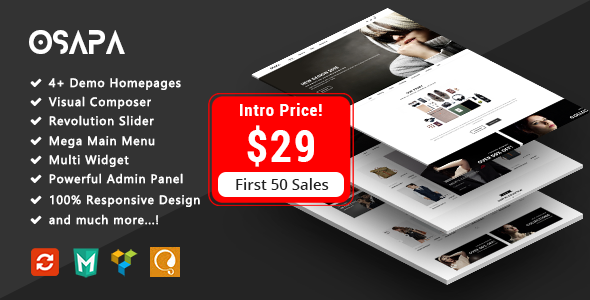 Image of Osapa - Fashion Responsive WooCommerce WordPress Theme