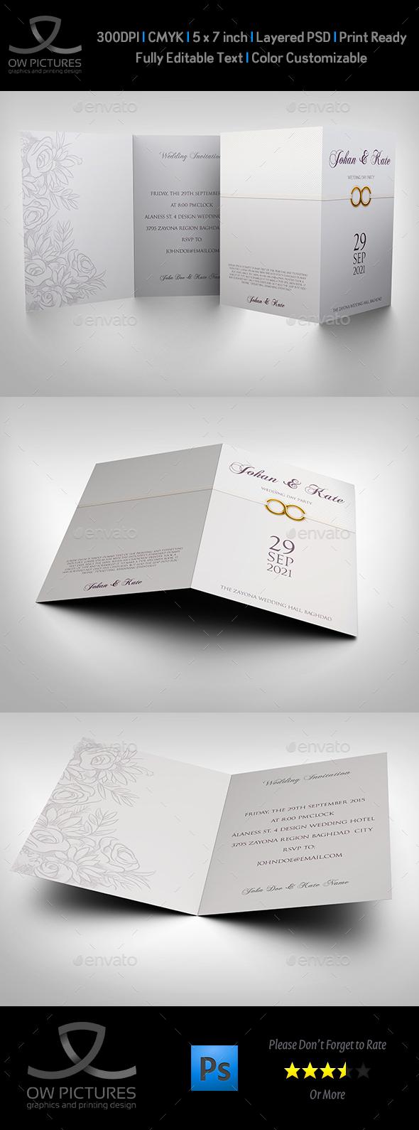 Wedding Invitation Card Template Vol.18 - Weddings Cards & Invites