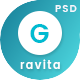 Gravita - Finance & Consulting, Accounting PSD Template