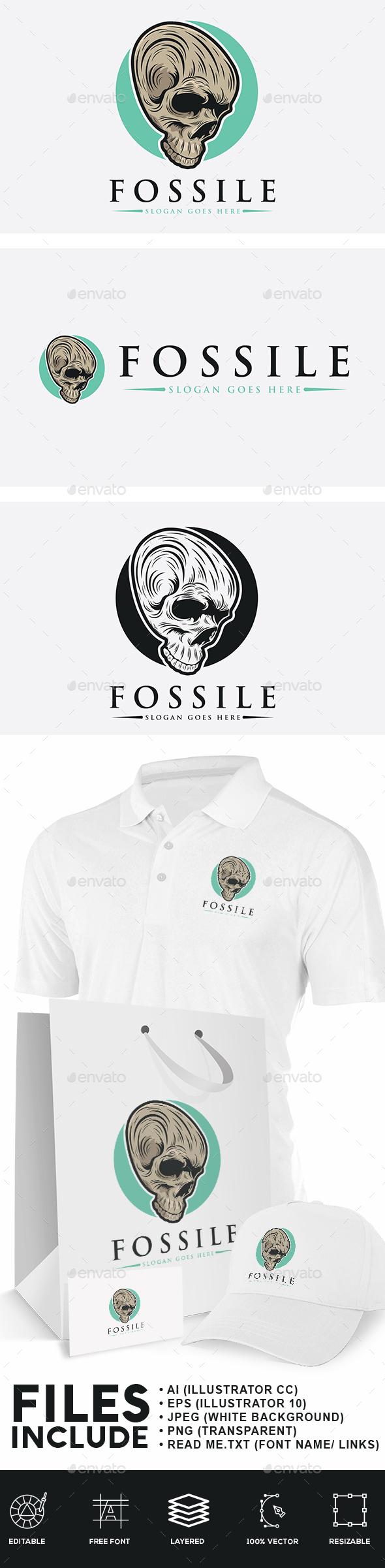 Skull Head Logo - Humans Logo Templates