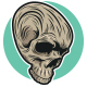 Skull Head Logo - GraphicRiver Item for Sale