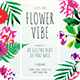 Flower Vibe Flyer - GraphicRiver Item for Sale