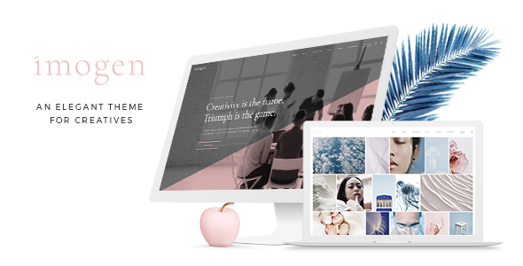 Imogen - An Elegant Theme for Designers and Creative Businesses - Creative WordPress