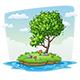 Tree on Island